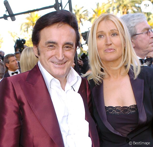 Dick Rivers et Babette au festival de Cannes 2005.