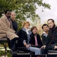 Arnaud Delalande, Mahamat Saleh Haroun, Manuel Blanc, Agathe de la Boulaye, Colo Tavernier et Jean-Marc Barr le 18/10/2004