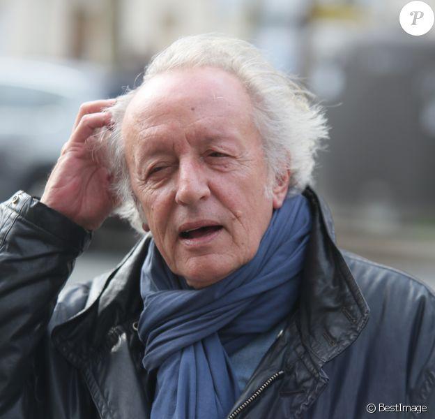 Didier Barbelivien lors de la messe hommage à Claude François en l'église Notre-Dame d'Auteuil à Paris le 10 mars 2018. © CVS / Bestimage