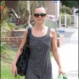 Christina Ricci, au restaurant The Gerrino, dans le quartier de West Hollywood, à Los Angeles, en septembre 2009 !
