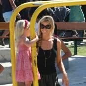 Denise Richards : Le bonheur avec ses trop choupettes de filles... tout simplement !