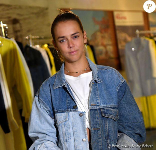Exclusif - Pauline Ducruet présente sa collection Alter été 2020 à Monaco dans un Pop Up Store dans le célèbre tunnel Riva du 19 au 21 juin 2020. © Bruno Bebert / Bestimage
