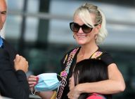 Laeticia Hallyday : Enfin de retour en France, radieuse, avec Jade et Joy