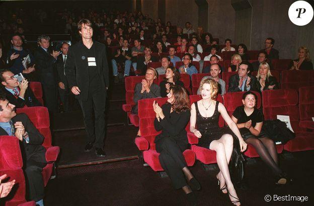 """Cruise et Nicole Kidman à la première du film """"Mission impossible"""" à Paris en 1996."""