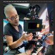 """Rayane Bensetti dévoile les dessous du tournage de son nouveau téléfilm intitulé """"Il était une fois à Monaco"""" - Instagram, 24 juin 2020"""