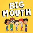 """Affiche de la saison 2 de """"Big Mouth"""" (Netflix)."""