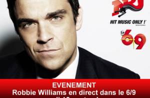 Robbie Williams : Nikos Aliagas l'aide à retrouver ses fans français !