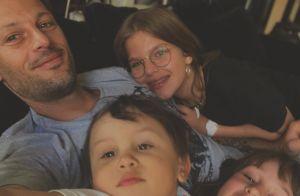 Nicolas Duvauchelle, photo inédite d'Andrea (2 ans) : leur grande ressemblance