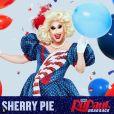 """Sherry Pie fait la promotion de la saison 12 de l'émission """"RuPaul's Drag Race"""". Instagram. Le 23 janvier 2020."""