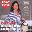 Caroline de Monaco en couverture de Point de Vue