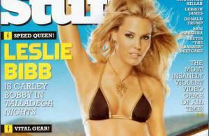 La sexy Leslie Bibb dévoile son adorable plastique... et c'est très charmant !