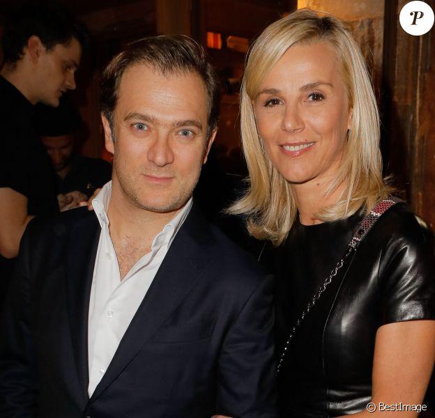Exclusif - Renaud Capuçon et sa femme Laurence Ferrari - Inauguration de l'hôtel Brach à Paris, le 16 octobre 2018. © CVS/Bestimage