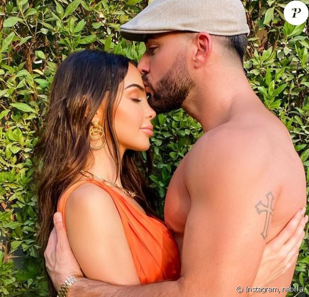 Nabilla Benattia et Thomas Vergara, le 13 juin 2020, sur Instagram