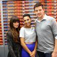 Lea Michele, Naya Rivera et Cory Monteith à Comic-Con International de San Diego en 2012.