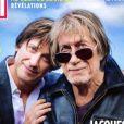 """Retrouvez l'interview intégrale de Jacques et Thomas Dutronc dans le magazine """"Paris Match"""", numéro 3695 du 27 février 2020."""