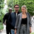 Sofia Richie et son compagnon Scott Disick sont allés faire du shopping chez Barneys New York et ont déjeuné au restaurant Il Pastaio à Beverly Hills, le 16 mai 2019