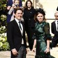 La princesse Beatrice d'York et son compagnon Edoardo Mapelli Mozzi - Les invités arrivent au mariage de E. Goulding et C. Jopling en la cathédrale d'York, le 31 août 2019.