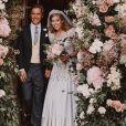 Mariage de la princesse Beatrice d'York avec Edoardo Mapelli Mozzi à la chapelle de tous les Saints, dans le parc du Royal Lodge à Windsor, le 17 juillet 2020. Photo signée Benjamin Wheeler.