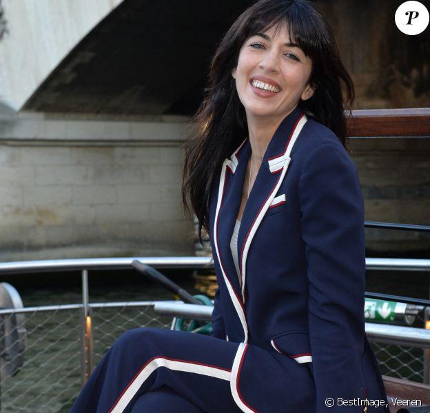 """Nolwenn Leroy - Soirée de gala de la """"Maud Fontenoy Fondation"""" à bord de la péniche Ducasse sur Seine à Paris le 6 juin 2019.© Veeren/Bestimage"""