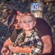 Clayton Gardner et sa fille sur Instagram. Le 1er décembre 2019.
