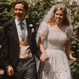 Mariage de la princesse Beatrice et Edoardo Mapelli Mozzi à Windsor, le 17 juillet 2020.