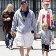 JAYDEN JAMES FEDERLINE EST VENU SUPPORTER SON FRERE SEAN PRESTON A SON MATCH 2011 - LOS ANGELES