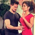 Anaïs Grangerac et son mari Damien Noel, le 27 avril 2017, sur Instagram