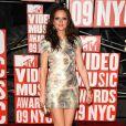MTV Video Music Awards 2009, le 13 septembre à New York : Leighton Meester, héroïne de  Gossip Girl