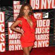 MTV Video Music Awards 2009, le 13 septembre à New York : Beyoncé a reçu trois prix, mais concourait manifestement aussi pour celui du plus beau décolleté !