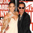 MTV Video Music Awards 2009, le 13 septembre à New York : Jennifer Lopez et Marc Anthony