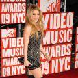 MTV Video Music Awards 2009, le 13 septembre à New York : Shakira, habillée par Balmain