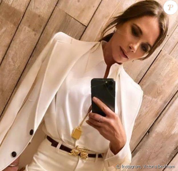 Victoria Beckham. Juillet 2020.