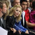 Madonna au défilé Marc Jacobs à la Fashion Week de New York, le 14 septembre 2009
