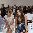 Anna Wintour et sa fille Bee Schaffer au défilé Marc Jacobs à la Fashion Week de New York, le 14 septembre 2009