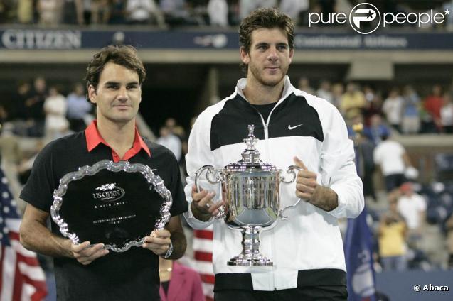 Juan Martin Del Potro s'est imposé en finale de l'US Open face à Roger Federer, à New York, le 14 septembre 2009 !