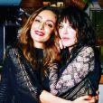 Hala Tayah et Isabelle Adjani. Juin 2018.