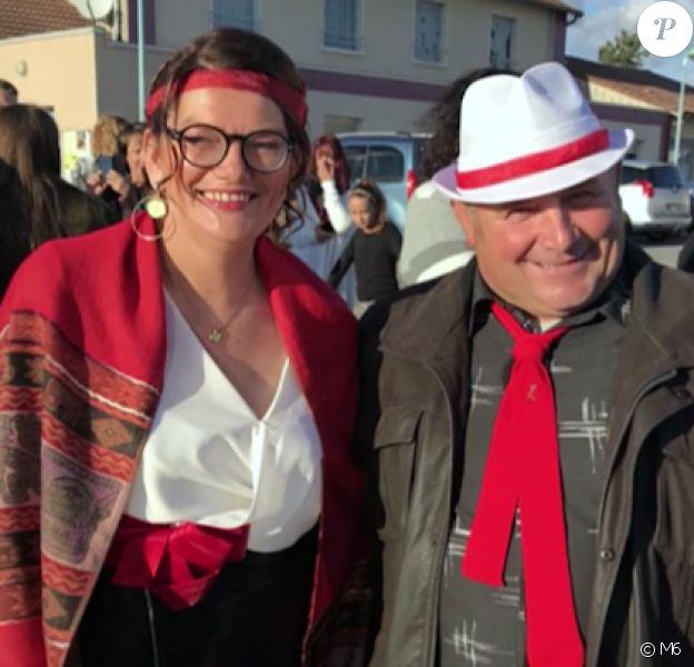 """Gégé et Anne-Marie dans """"Que sont-ils devenus ?"""" sur M6."""
