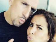 Franck Ribéry très musclé : sa femme Wahiba séduite par son corps bien bronzé