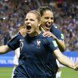 Eugenie Le Sommer (France) - Dans le cadre de la coupe du monde féminine de football, l'équipe de France bat la Norvège (2-1) à Nice, le 12 juin 2019.
