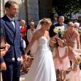 Ada Hegerberg, coéquipière d'Eugénie Le Sommer à Lyon, était invitée à son mariage avec Florian Dariel, dans le Finistère, le 11 août 2020.