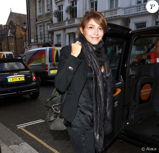 Emma de Caunes à Londres le 16 septembre 2009