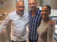M. Pokora et Christina Milian : Chic dîner romantique chez un MasterChef à Paris