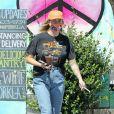 Exclusif - Ireland Baldwin est allée déjeuner chez Joan's on Third dans le quartier de West Hollywood à Los Angeles pendant l'épidémie de coronavirus (Covid-19), le 13 août 2020. @Backgrid USA / Bestimage