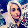 Priscilla Betti blonde, Instagram, octobre 2017.