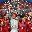 Le Bayern de Munich a remporté la finale de la ligue des Champions UEFA 2020 à Lisbonne en gagnant 1-0 face au PSG (Paris Saint-Germain) © Pool UEFA via Bestimage