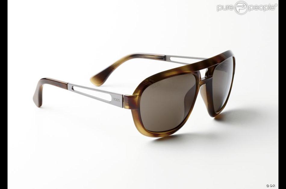 15971f13cba8e4 Les nouvelles lunettes de soleil Tod s. Modèle pour homme   270 ...