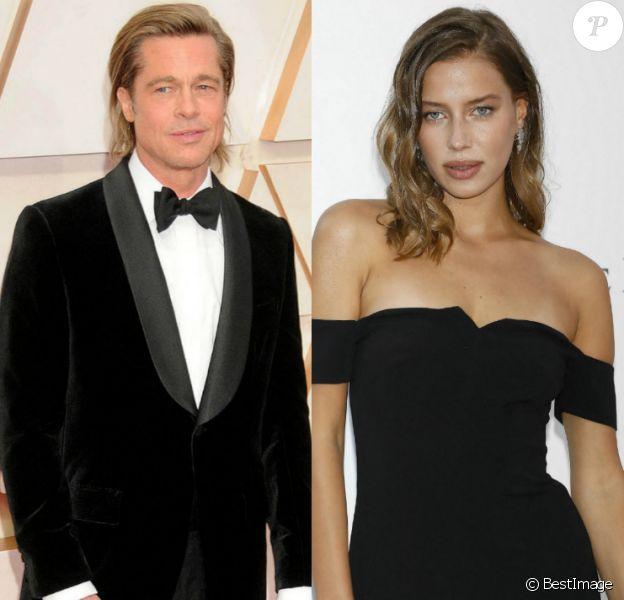 Brad Pitt aux Oscars et Nicole Poturalski à Cannes.
