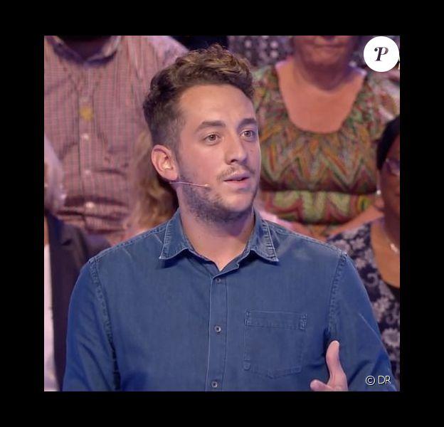 """Bastien Payet, candidat des """"12 Coups de midi"""" (TF1)"""