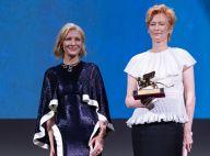 Tilda Swinton à l'honneur : premier tapis rouge pour la Mostra de Venise