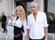 Arielle Dombasle et Bernard-Henri Lévy, couple assorti à la Mostra de Venise